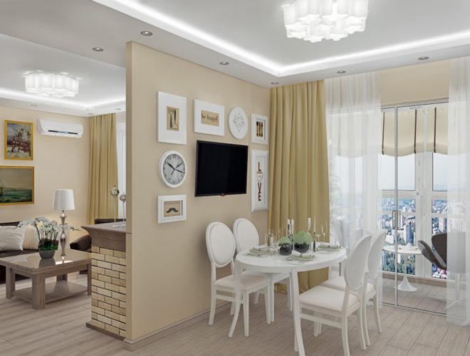 СК-Кифа: Перепланировка квартиры из однушки в двушку
