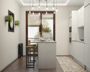 Перепланировка квартиры (Присоединение лоджии)