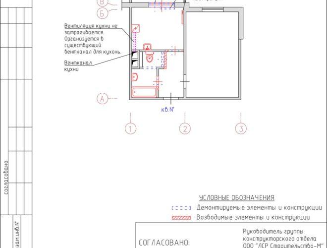 Проект перепланировки Серия ЕВРОПА