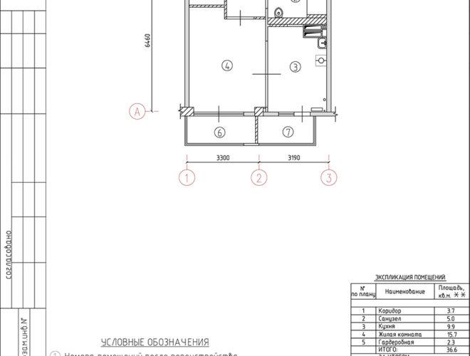 Перепланировка квартиры Феодосия Крым